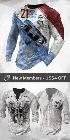 Up to 45% off! Men fashion long-sleeve T-shirt and accessories holiday sale for discount, free shipping on order $59. Shop now! #sale #men #outfits #accessories #shoes #shirt #tee #fall #winter #hoodie #tactical Print Design, Long Sleeve Shirts, Shop Now, Men Shirts, Mens Fashion, Hoodies, Denim, Tees, Fall Winter