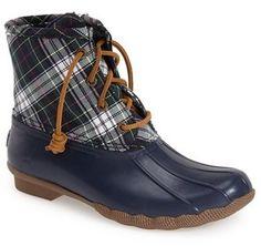 fb2f9516ad8c43 Sperry  Saltwater  Waterproof Rain Boot (Women) Sales Off