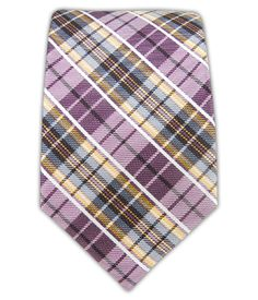 Vision Plaid - Berry/Baby Blue/Yellow Gold (Skinny)