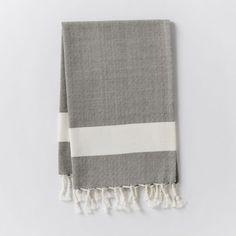 Honeycomb Tassel Hammam Hand Towel from West Elm
