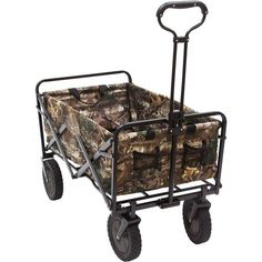 #New Realtree Camouflage Wagon features a powder-coat steel frame and 600-denier polyester fabric $79.99  #Realtreecamo