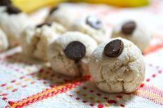 Gluten free healthy cookie dough bites