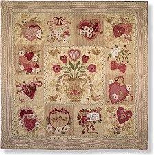 Vintage Valentine Block Of The Month Quilt
