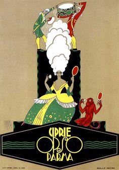 Vintage Italian Posters ~ #Italian #vintage #posters ~ Erberto Carboni, 1923