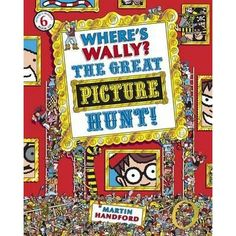 Where's Wally? The Great Picture hunt! (book 6) • English Wooks