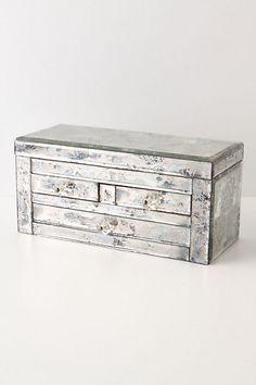 Rose Mallow Reflection Jewelry Box