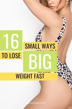 16 Small Changes To Your Diet To Lose Big Weight - You Are Worth It, One of the best weight loss tips are those that are simple to established and simple to prepared Weight Loss Plans, Fast Weight Loss, Healthy Weight Loss, Weight Loss Tips, Lose Weight In A Month, How To Lose Weight Fast, How To Eat Less, How To Run Longer, Healthy Shopping