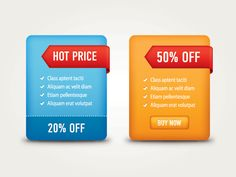 """""""#Sale #Banners"""", #colorful vector banners by #DryIcons.com."""