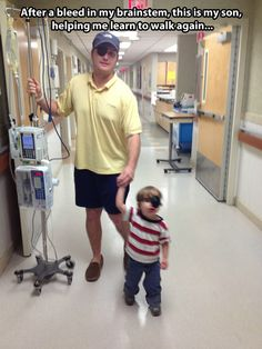 Learning to walk again with the best teacher…