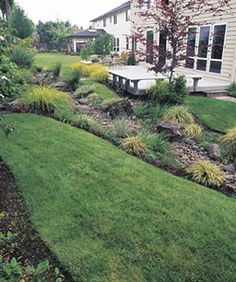 landscaping berms backyard was just a flat rectangular lawn now it