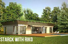 Starck with Riko - Philippe Starck cria casas pré-fabricadas ecologicamente corretas