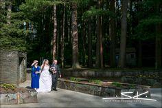 Garden House Wedding, Pine's Theater Wedding, Look Park Wedding, Northampton Wedding , wedding processional, bride and parents