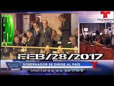 PRIMER MENSAJE DE ESTADO --TELENOTICIAS- FEB/28/2017 (NOTICIAS DE PUERTO...
