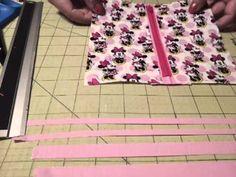 Zippered Pouch Tutorial ( How to add zipper)