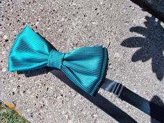 Colourful bow tie/ Dark teal bow tie/ Fantasy bow tie/ Made in Italy (22.00 EUR) by VanessaVanHandmade