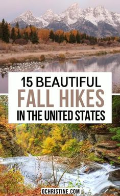 15 Beautiful Fall Hikes in the United States