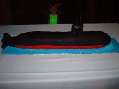 The Submarine Cake!