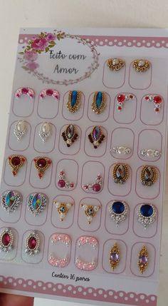 Swarovski Nails, Crystal Nails, Rhinestone Nails, Bling Nails, Dimond Nails, Gem Nails, Love Nails, Nail Jewels, Blue Nail Designs