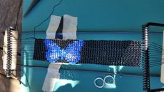 Loom beading - butterfly
