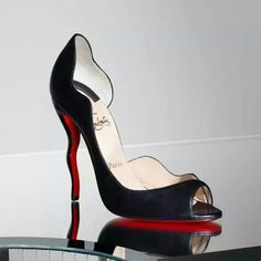 I'd never be able to afford a pair of Louboutins, these are probably the neatest pair of heels I've ever seen.