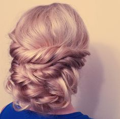 Aveda stylist Melody's beautiful bridal updos blend braids, buns and chignons and work for brides, bridesmaids and wedding guests. Be inspired today.