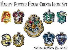 Harry Potter House Crest Icons by xnauticalstar on DeviantArt Harry Potter House Quiz, Harry Potter Monopoly, Harry Potter Crest, Harry Potter Sorting Hat, Harry Potter Draco Malfoy, Harry Potter Decor, Harry Potter Houses, Harry Potter Hogwarts, Hogwarts Crest