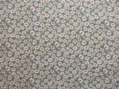Calico Fabric - OOP  - Daisies  by Joan Kessler for Concord Fabrics -  100% Cotton - See Options