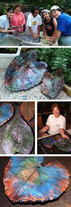 Re-post: Concrete leaf casting