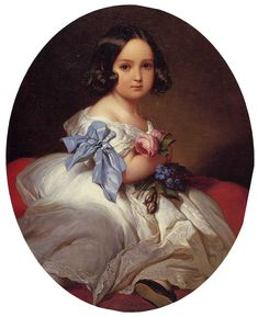 Куклы Maristew - Мастер портрета. Франц Ксавье Винтерхальтер (19 в.).