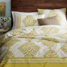 Bright Ikat Bedding - Summer Home Decor on Sale 2013
