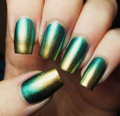 China Glaze Gradient Manicure