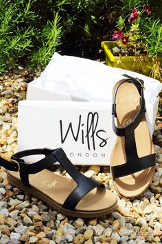 Step your way through summer with these stunning, strappy sandals from Wills London.