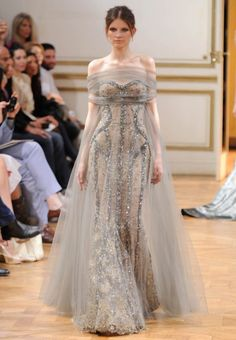 Zuhair Murad Haute Couture fall 2013 #hautecouture #zuhairmurad #fashion