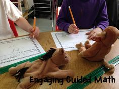 Engaging Guided Math Ideas