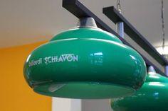 Plafoniera Biliardi Schiavon con tre luci