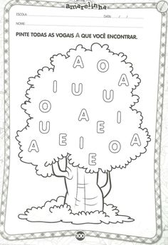 Preschool Learning Activities, Free Preschool, Preschool Worksheets, Preschool Kindergarten, Homeschool Math, Pre School, Learn English, Literacy, Alphabet