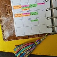 Where are my #planner peeps at?? All my art/planners/pens can be found on my #creative acct here  @aftdesigns - but here's a peek at a beginning #busymom schedule this month! And I fun tassel I made   I #colorcode each person in my family and I use a #filofax malden as my wallet. And these are just appts and games (with more to write in!!) Not including work school goings on etc. Living that #busyfitmom life! Plan or fail. #fitfluential #life