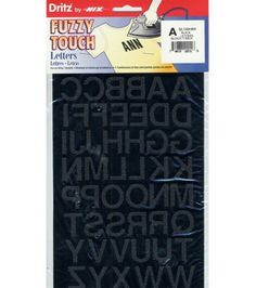 Dritz  Iron-On Letters 1'' Block, , hi-res