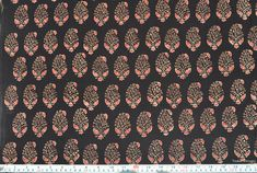 Floral Print fabric Ajrak fabric Block Print Fabric Dress Fabric by the yard by VedahDesigns on Etsy