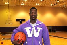 University of Washington's Darnell Gant in his comfy cozy Swagga Suit