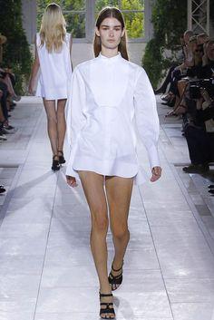 Balenciaga: the perfect boyfriend shirt dress <3