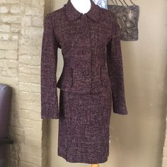 Ann Taylor tweed suit Ann Taylor tweed suit Ann Taylor Other