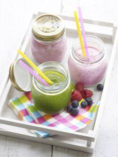 Een overheerlijke ochtenddip smoothies, die maak je met dit recept. Smakelijk!