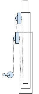 Home brew crank up antenna mast - amateur radio Telescopic Crane, Telescopic Pole, Beer Brewing, Home Brewing, Best Cb, Lifting Devices, Kombi Motorhome, Ham Radio Antenna, Two Way Radio
