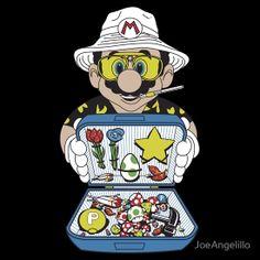 """Koopa Country"" shirt, Hunter S. Thompson meets Mario"