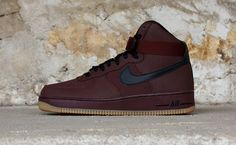 "Nike Air Force 1 Hi ""Barkroot Brown"""