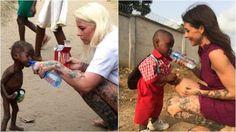 Nigeria, Hope va a scuola: volontaria ricrea lo scatto di quando salvò il bambino