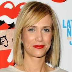 Kristen Wiig... want this hair