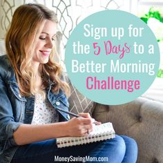 Does mornings leave you feeling rushed, chaotic and frazzled? It doesn't have to be that way. Master your mornings with the free better morning challenge (ad) Homemade Frappuccino, Frappuccino Recipe, Money Saving Mom, Chocolate Chip Oatmeal, Fries In The Oven, Read News, Freezer Meals, That Way, Clean House