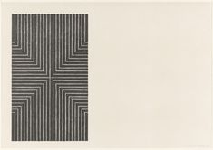 "cntmpryart: ""Frank Stella, Die Fahne Hoch! (1967) """